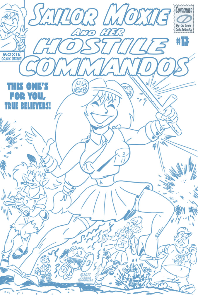 Sailor Moxie and her Hostile Commandos