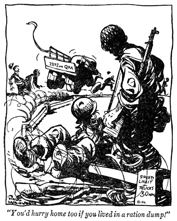 Mill Mauldin cartoon